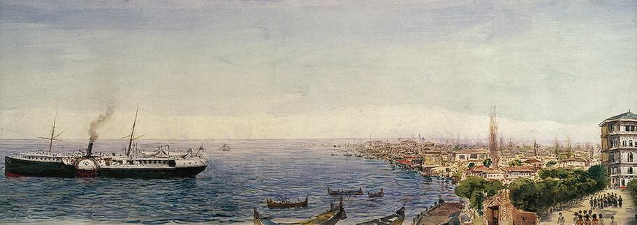 بندر انزلی در سال ۱۸۹۵